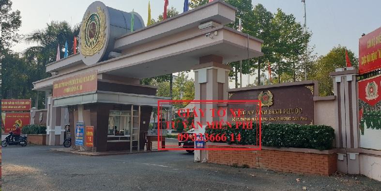 Đăng ký xe ô tô tỉnh Bình Phước